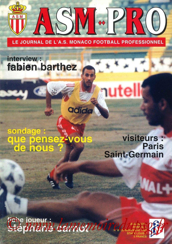 1997-11-20  Monaco-PSG (17ème D1, ASM Pro N°8)