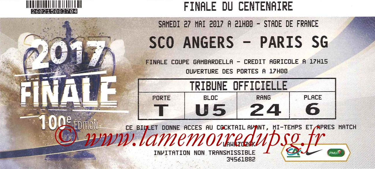2017-05-27  Angers-PSG (Finale CF à Saint-Denis)2