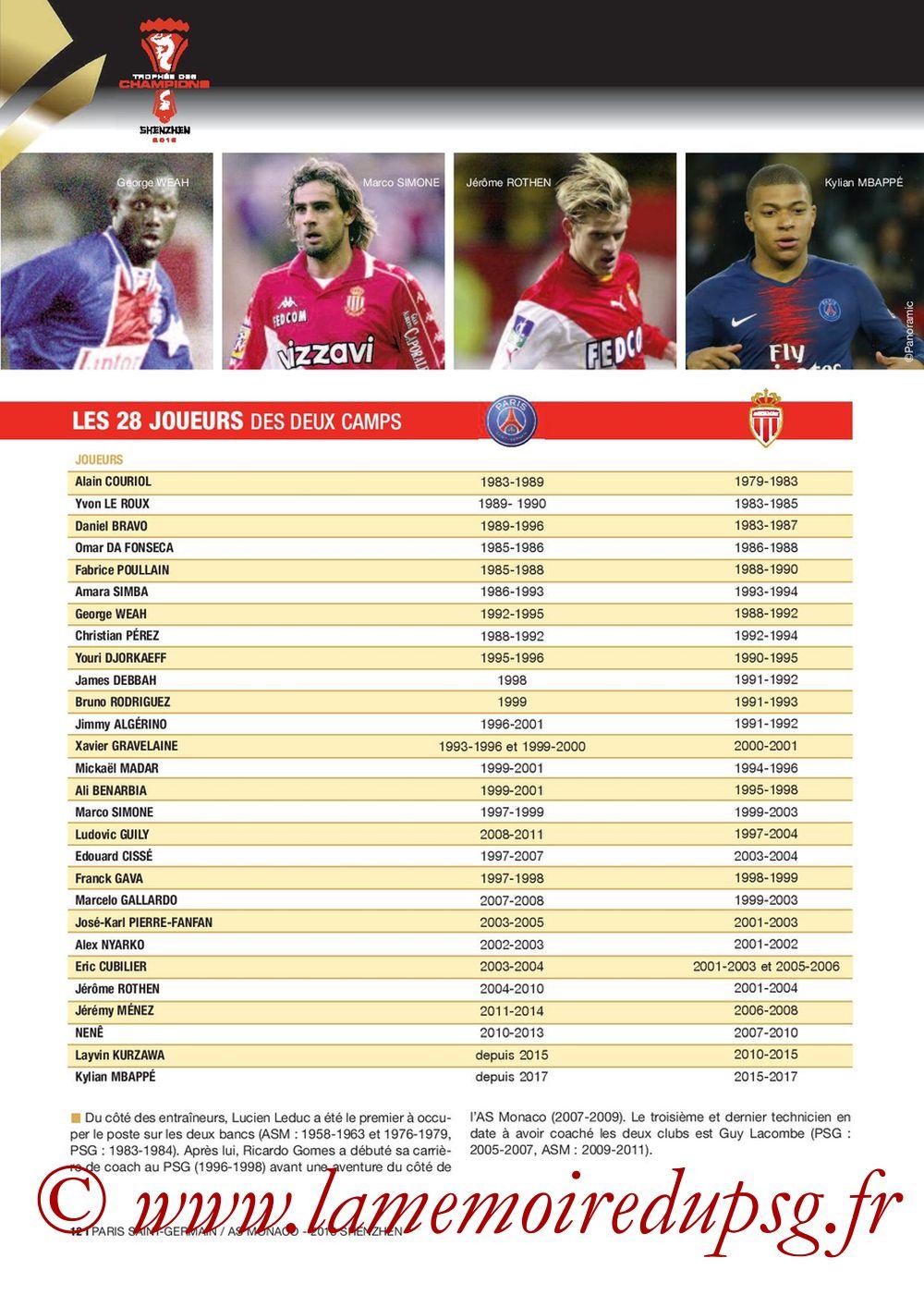 2018-08-04  PSG-Monaco (Trophée des Champions à Shenzhen, Dossier de Presse) - Page 12