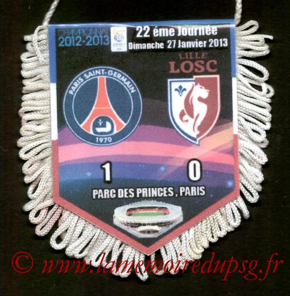 2013-01-27  PSG-Lille (22ème L1)