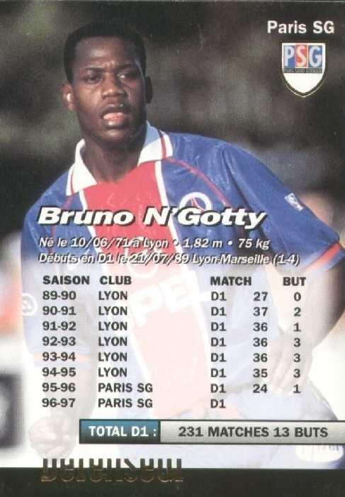 N° 173 - Bruno N'GOTTY (Verso)