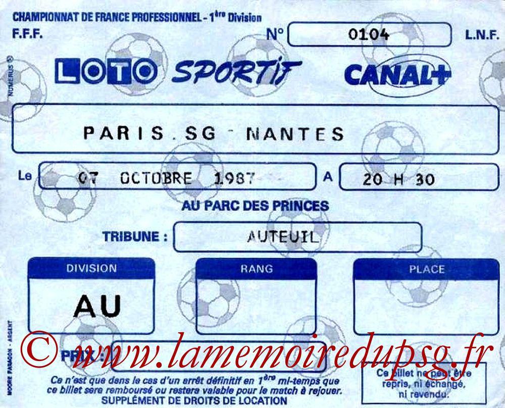 1987-10-07  PSG-Nantes (14ème D1)