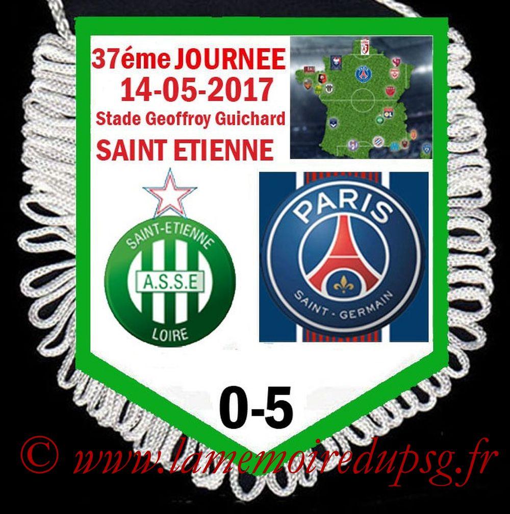 2017-05-14  Saint Etienne-PSG (37ème L1)