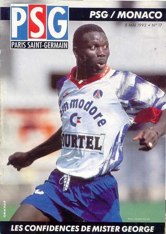 1993-05-08  PSG-Monaco (34ème D1, Le Magazine PSG N°17)