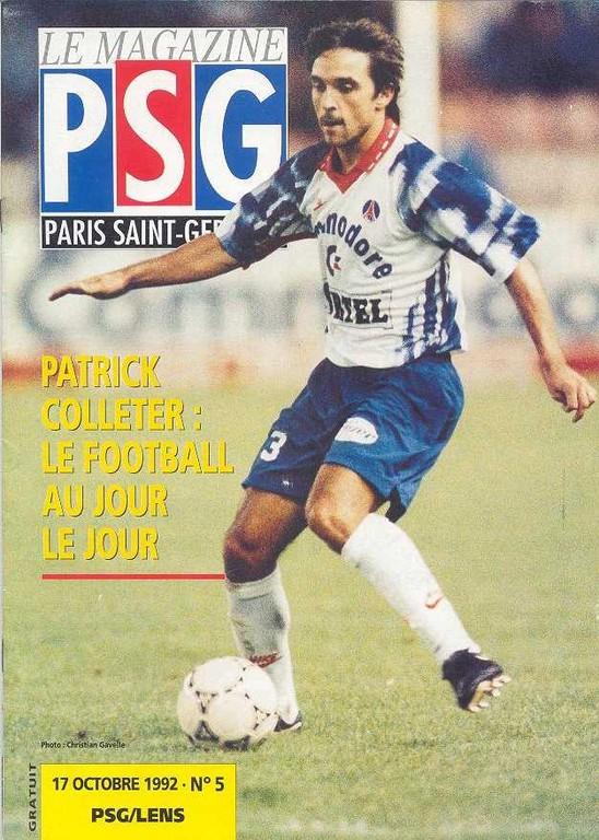 1992-10-17  PSG-Lens (11ème D1, Le Magazine PSG N°5)