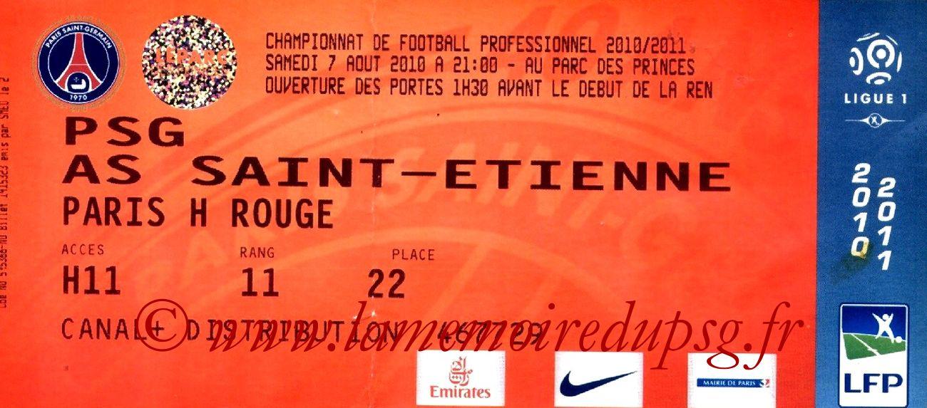 2010-08-07  PSG-Saint Etienne (1ère L1)bis