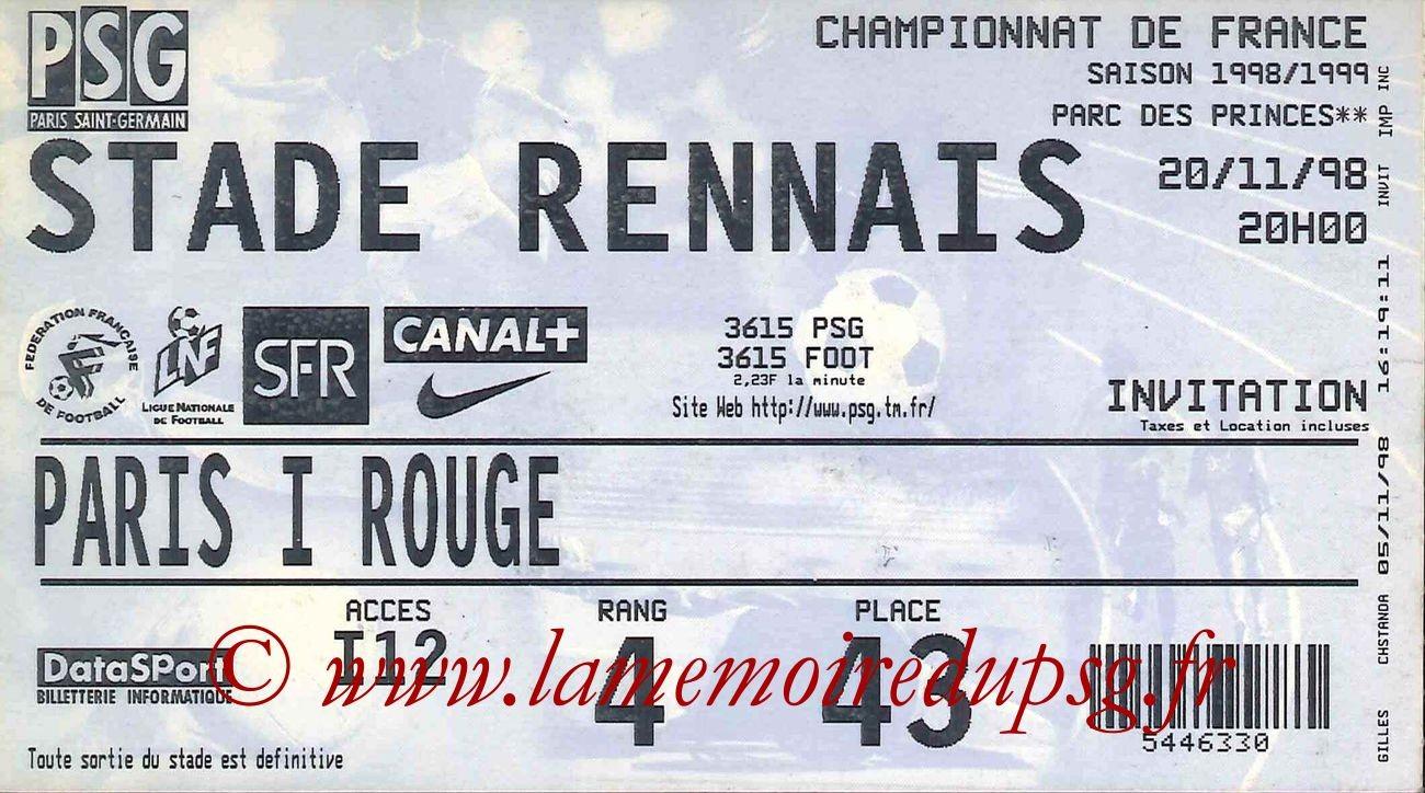 1998-11-20  PSG-Rennes (15ème D1)