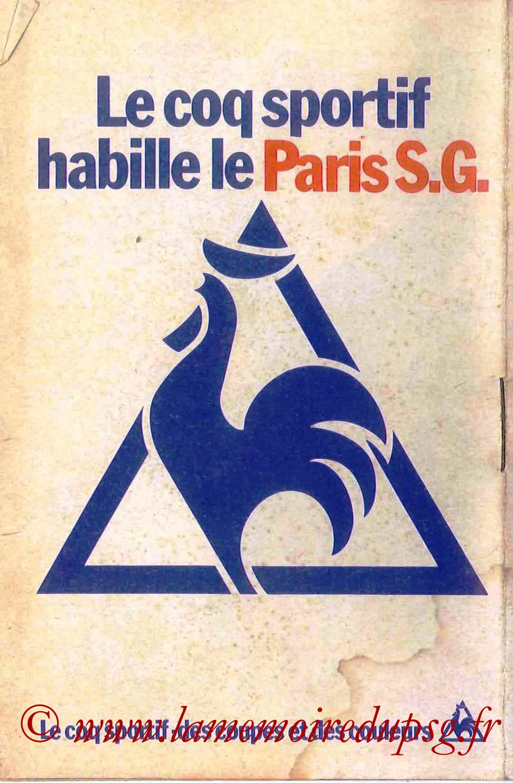 1978-79 - Guide de la Saison PSG - Page 16