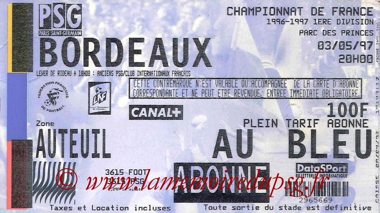1997-05-03  PSG-Bordeaux (36ème D1)