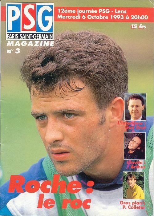 1993-10-06  PSG-Lens (12ème D1, PSG Magazine N°3).