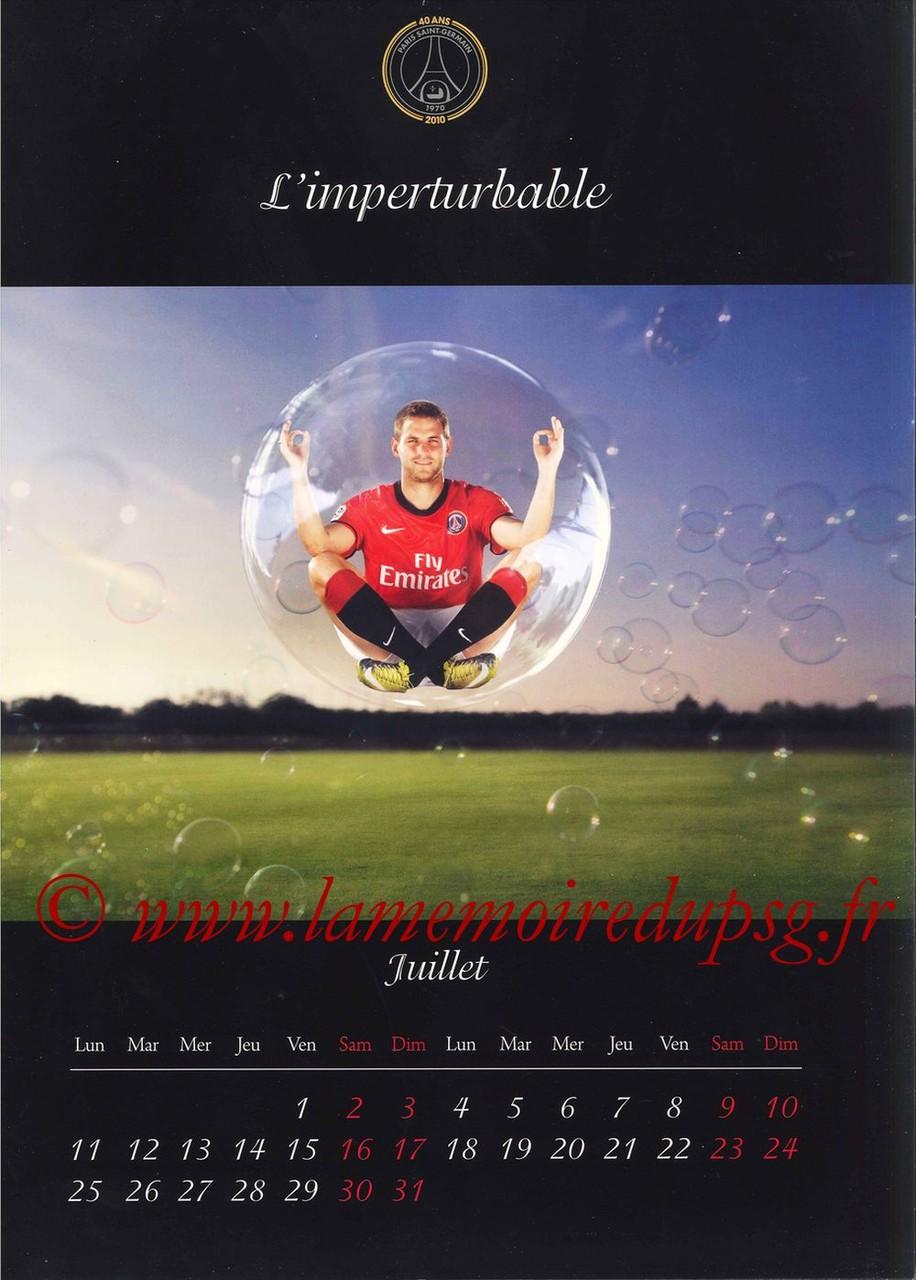 Calendrier PSG 2011 - Page 13 - L'imperturpable
