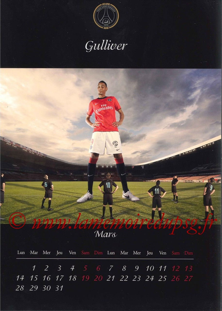 Calendrier PSG 2011 - Page 05 - Gulliver
