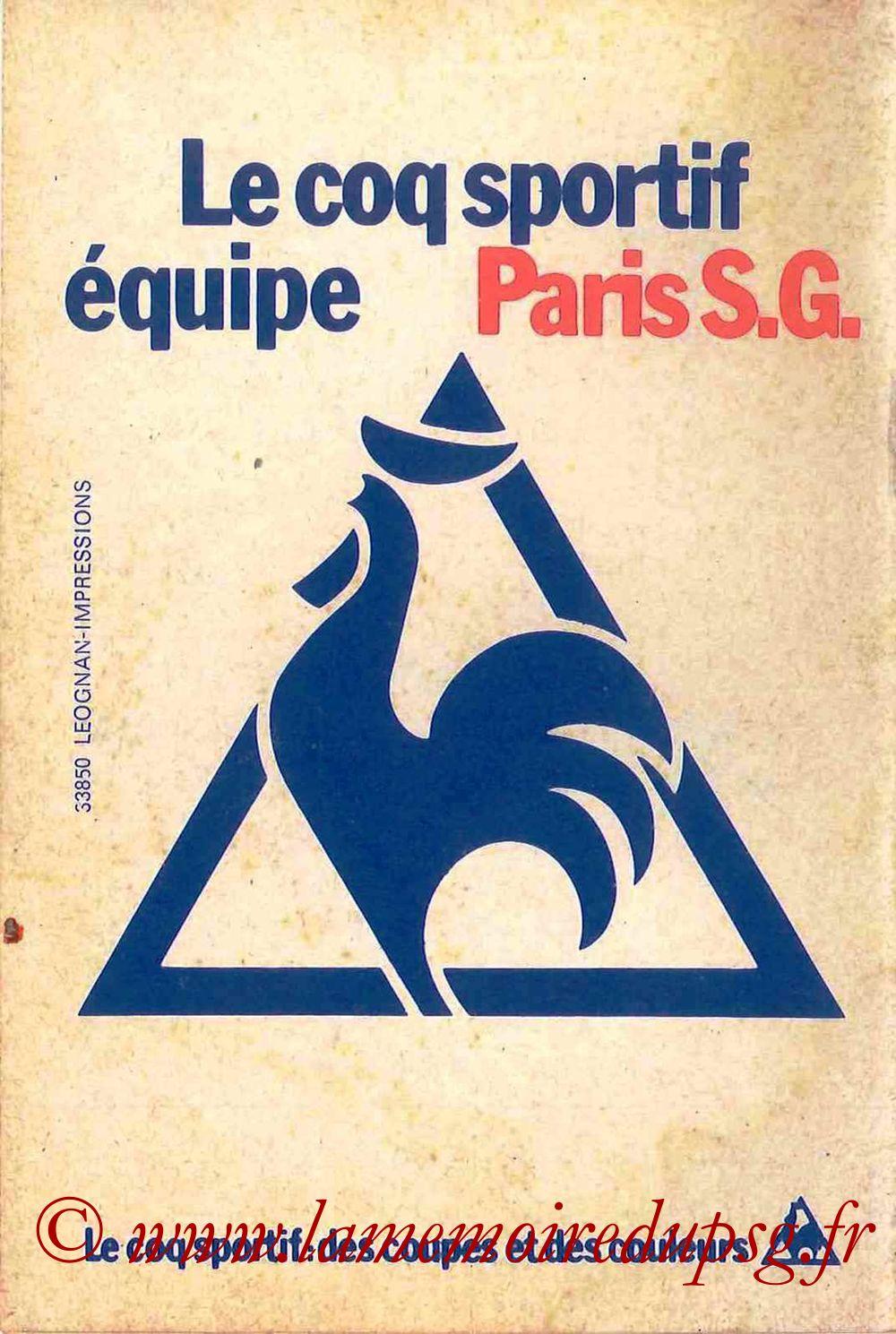 1979-80 - Guide de la Saison PSG - Page 16