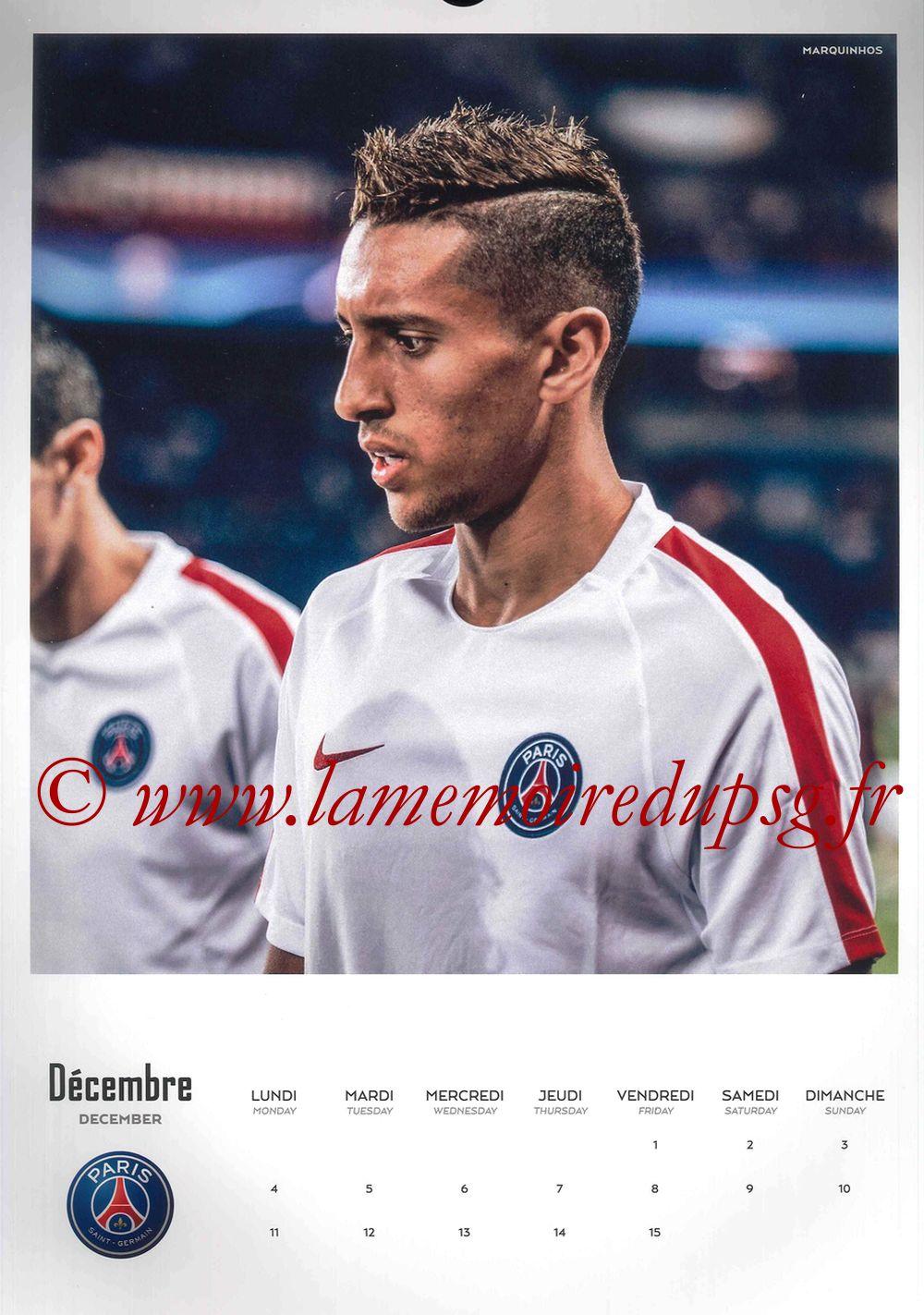 Calendrier PSG 2017 - Page 23 - MARQUINHOS