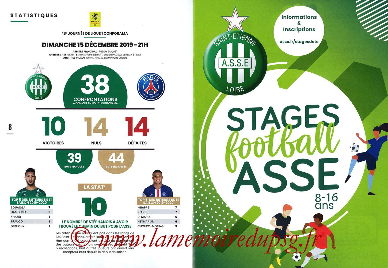 2019-12-15  Saint-Etienne (18ème L1, Maillot Vert N°31) - Pages 08 et 09