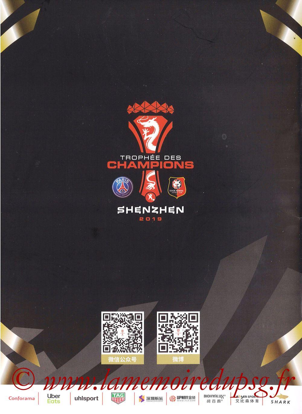 2019-08-03  PSG-Rennes (Trophée des Champions à Shenzhen, Dossier de presse) - Page 15