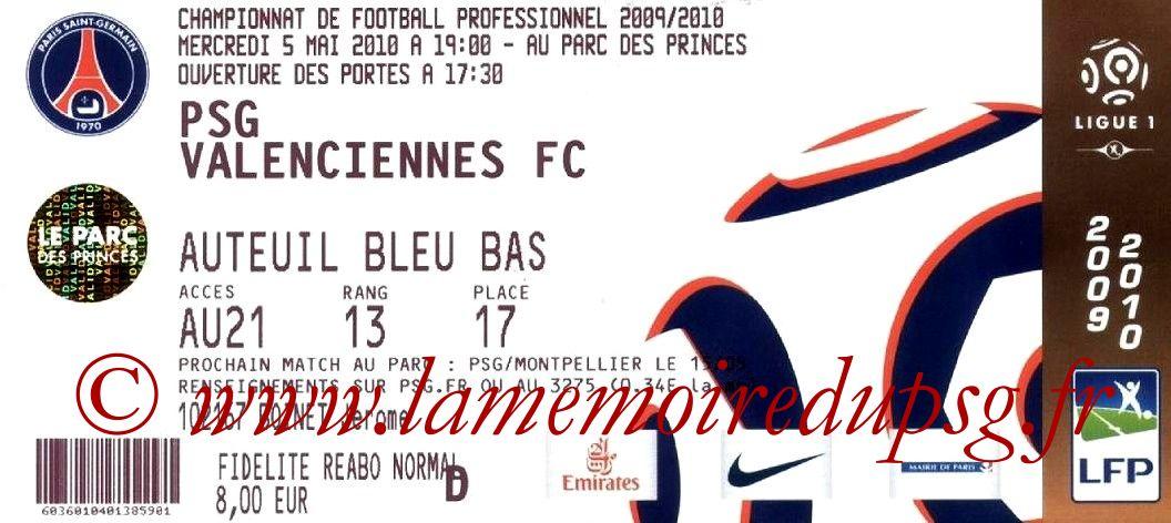 2010-05-05  PSG-Valenciennes (36ème L1)