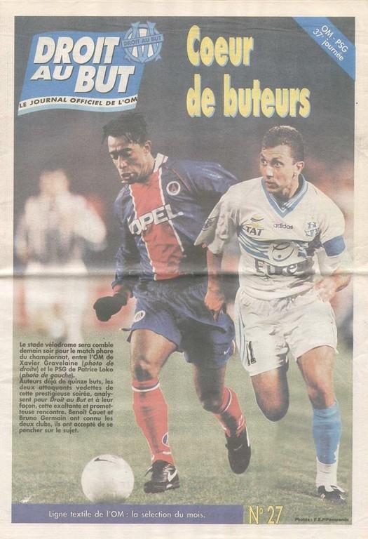 1997-05-17  Marseille-PSG (37ème D1, Droit au But N°27)