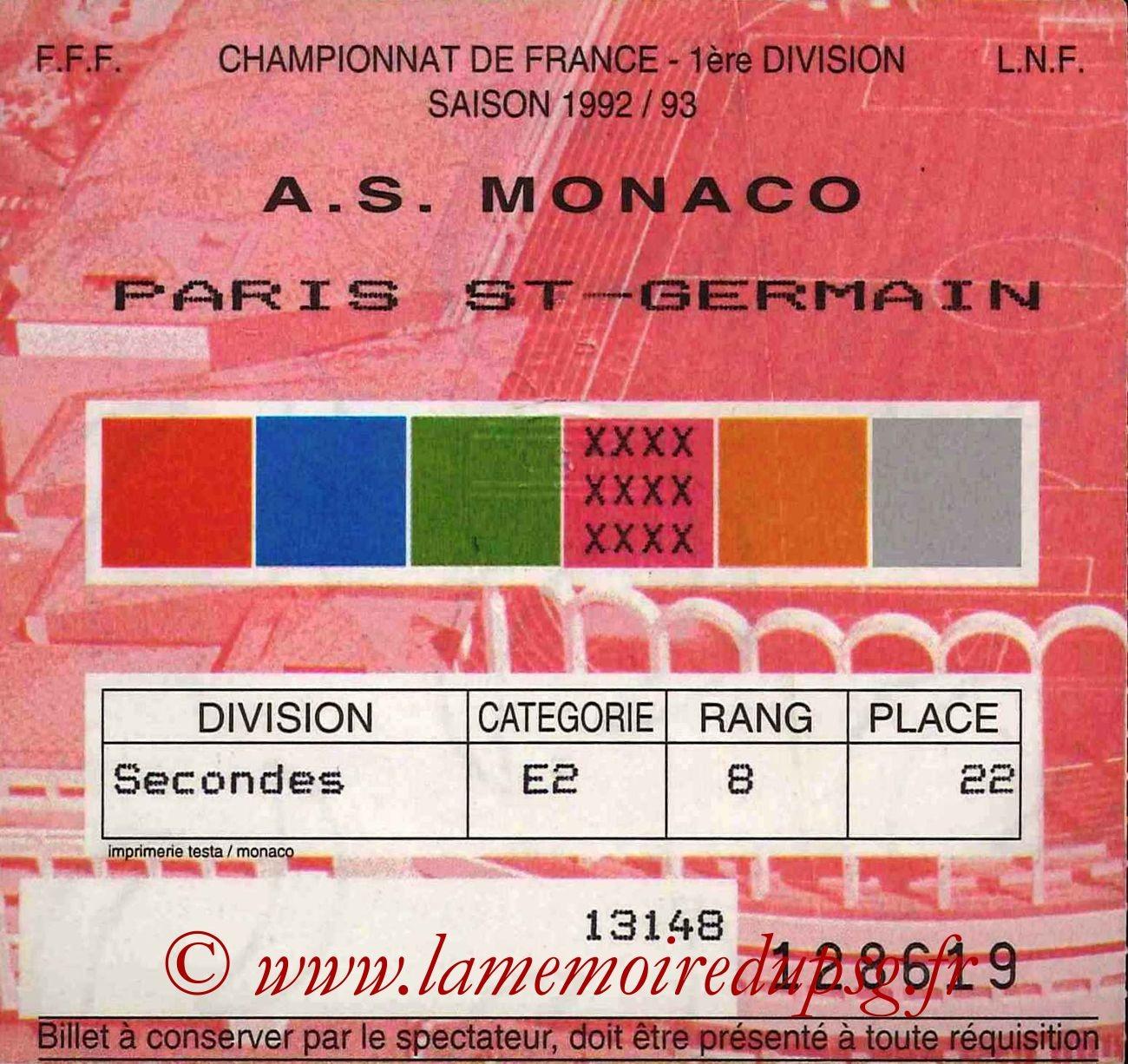 1992-11-28  Monaco-PSG (16ème D1)