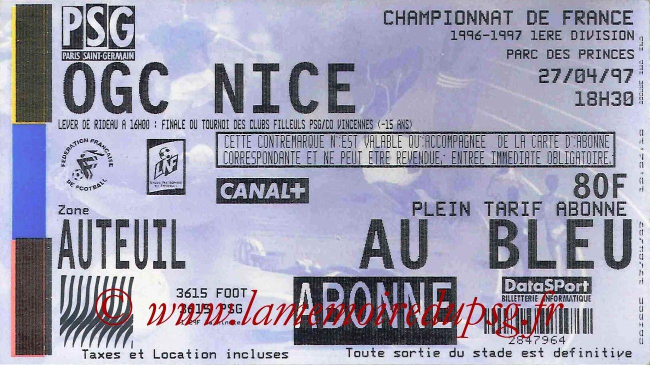 1997-04-27  PSG-Nice (34ème D1)