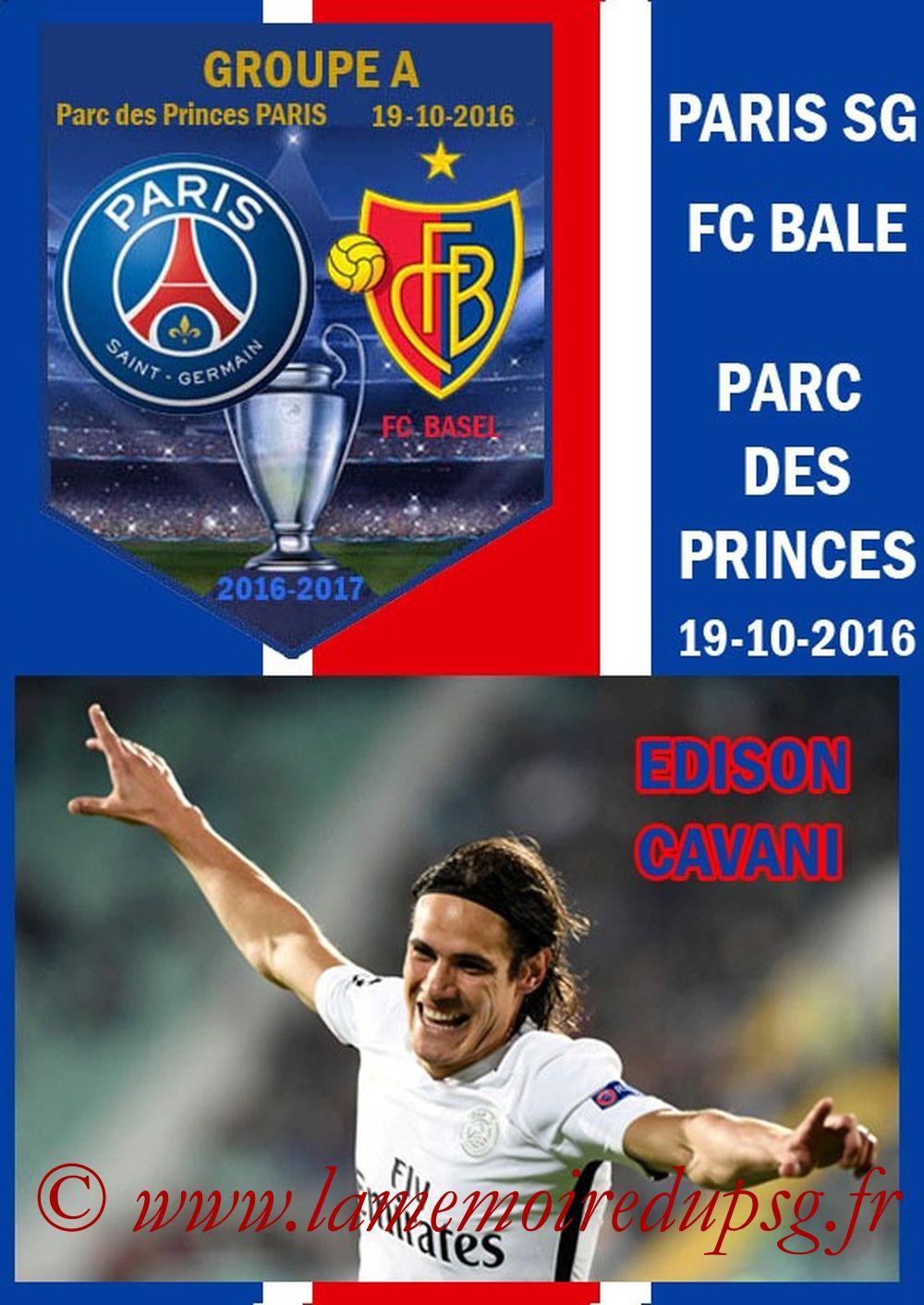 2016-10-19  PSG-Bale (3ème Poule C1, Programme pirate 2)