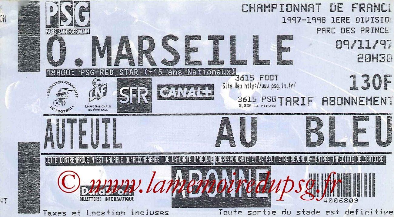 1997-11-09  PSG-Marseille (15ème D1)
