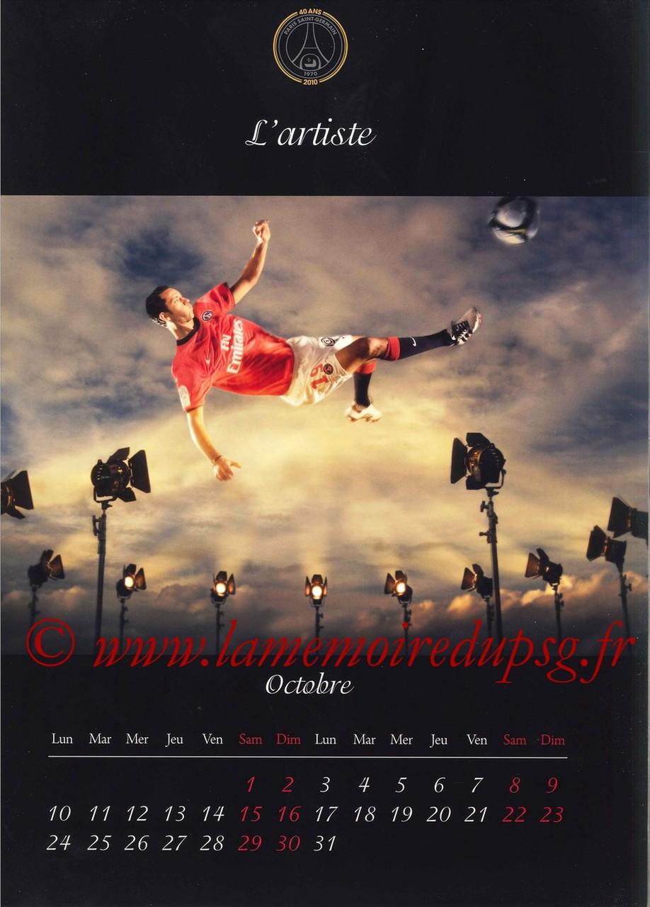 Calendrier PSG 2011 - Page 19 - L'Artiste