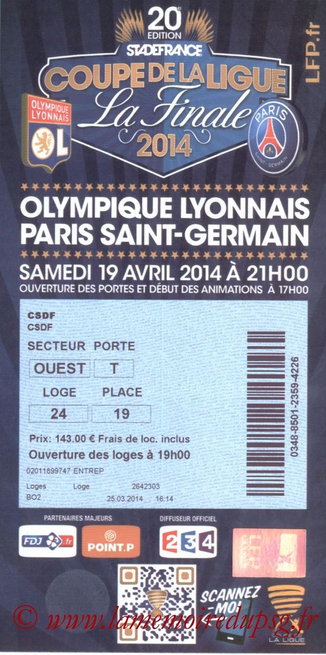 2014-04-19  PSG-Lyon (Finale CL à Saint-Denis)bis