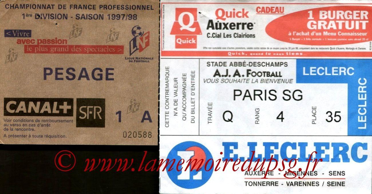1997-08-07  Auxerre-PSG (2ème D1)