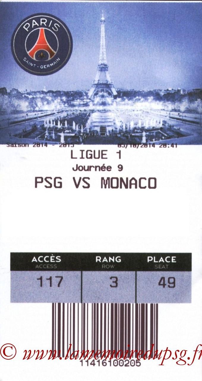 2014-10-05  PSG-Monaco (9ème L1, E-ticket)