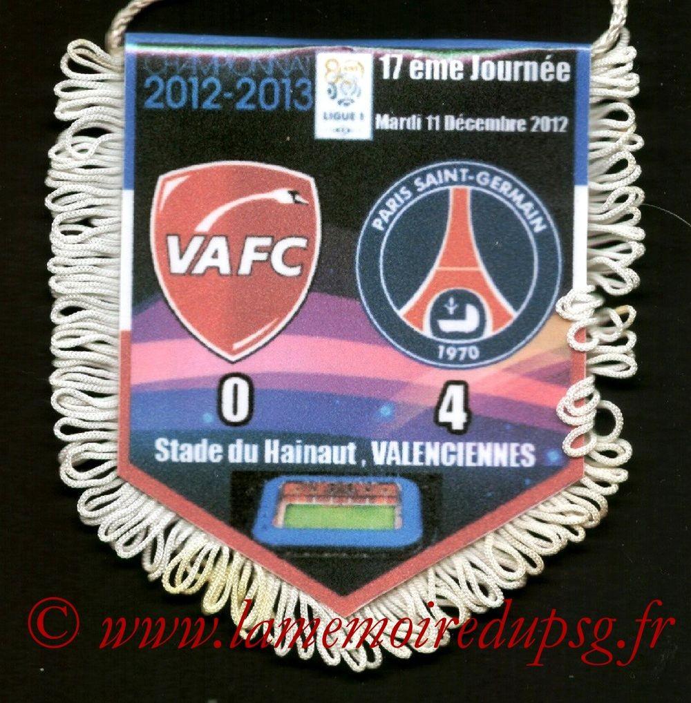 2012-12-11  Valenciennes-PSG (17ème L1)