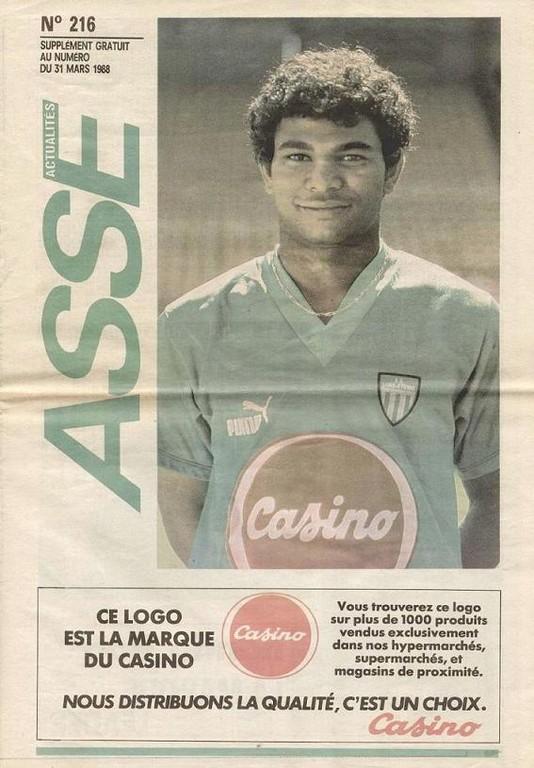 1988-04-02  Saint Etienne-PSG (30ème D1, ASSE Actualites N°216)