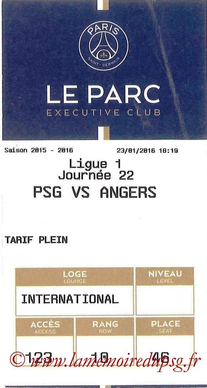 2016-01-23  PSG-Angers (22ème L1, E-ticket Executive club)
