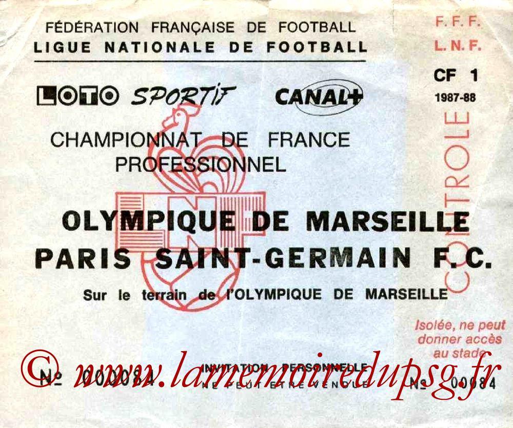 1988-05-21  Marseille-PSG (36ème D1, Invitation)