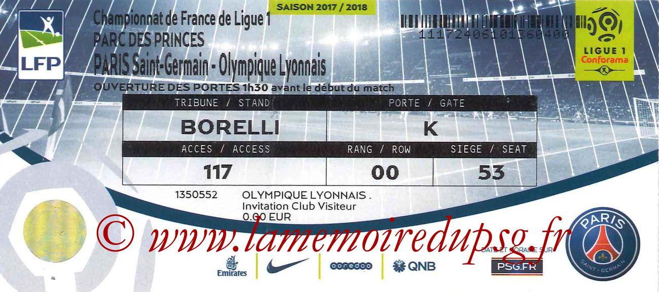 2017-09-17  PSG-Lyon (6ème L1)