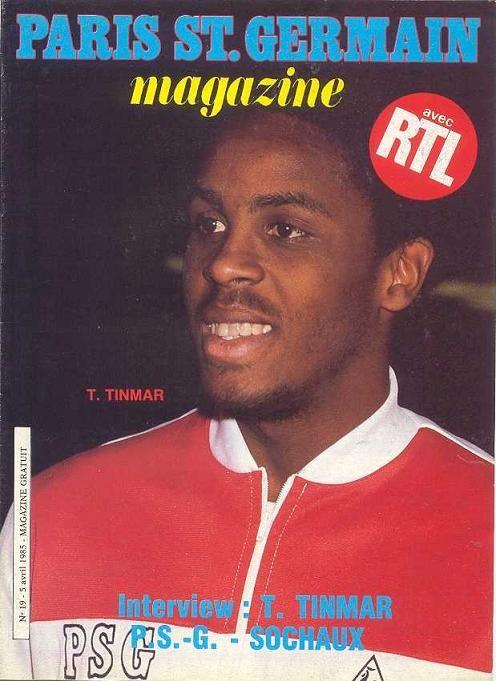 1985-04-05  PSG-Sochaux (31ème D1, Paris SG Magazine N°19)