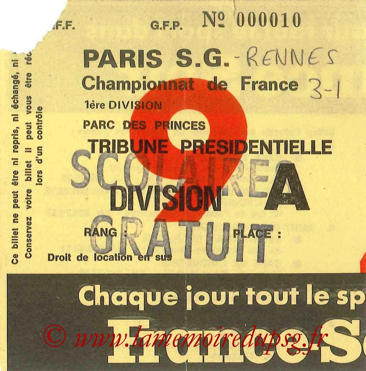 1976-12-19  PSG-Rennes (19ème D1, Sans nom N°9)