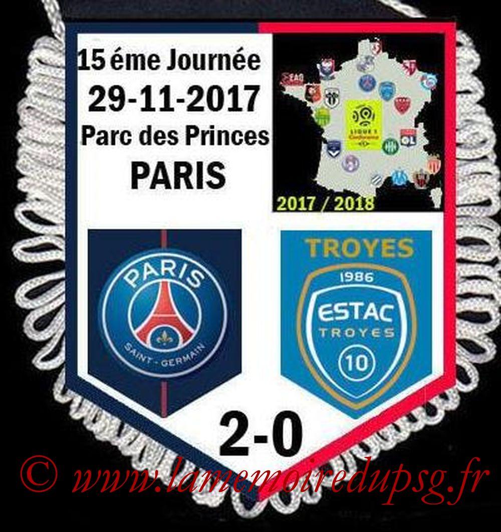 2017-11-29  PSG-Troyes (15ème L1)