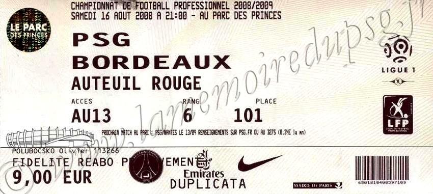 2008-08-16  PSG-Bordeaux (2ème L1)
