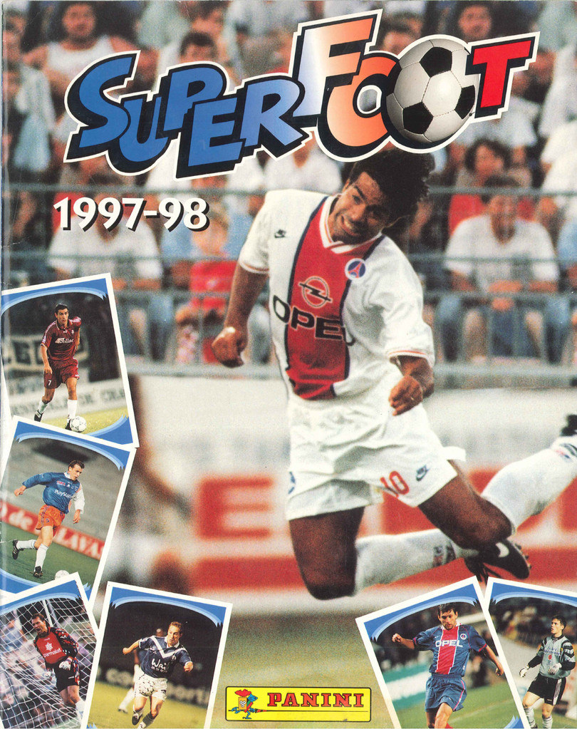1997-98 - Panini Superfoot - Couverture