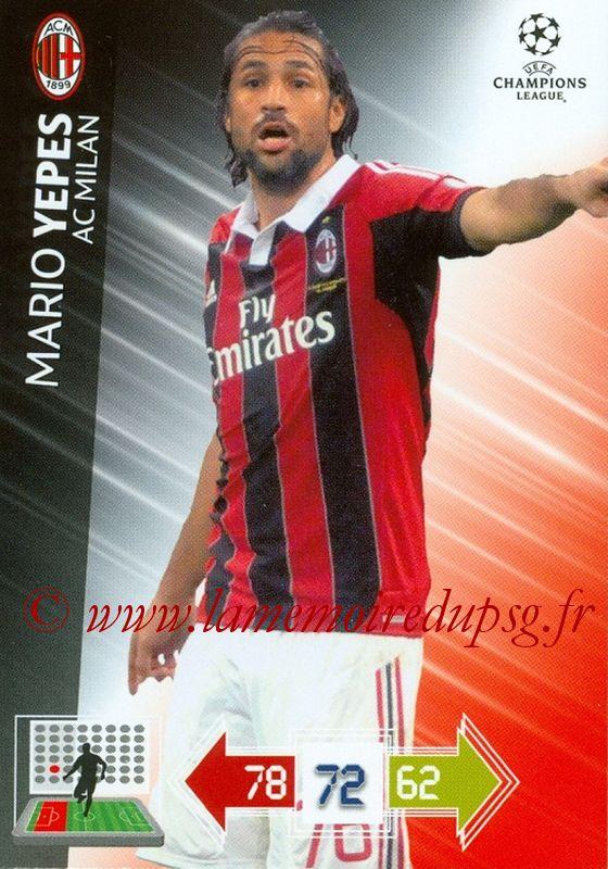 N° U079 - Mario YEPES (2004-08, PSG > 2012-13, Milan AC, ITA)