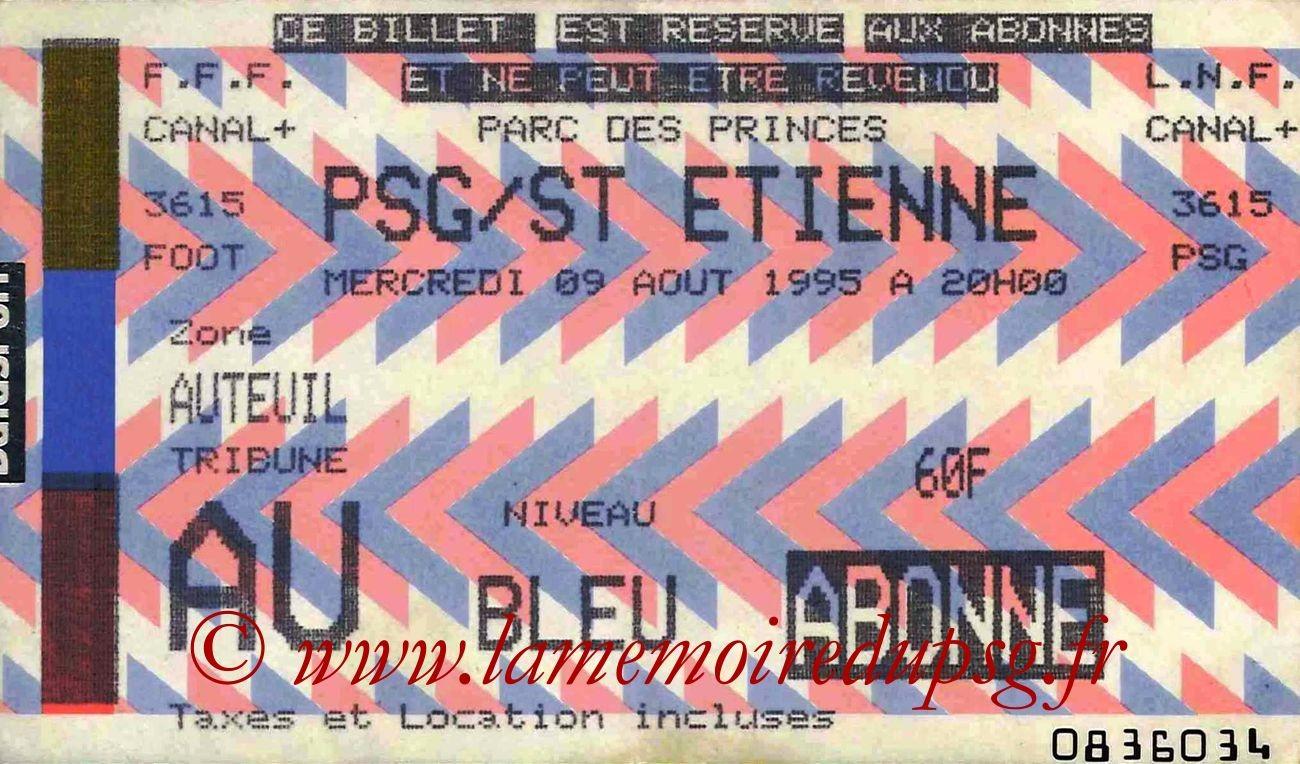 1995-08-09  PSG-Saint Etienne (4ème D1)