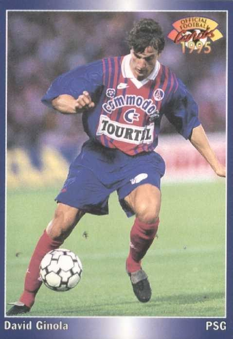N° 151 - David GINOLA (Recto)
