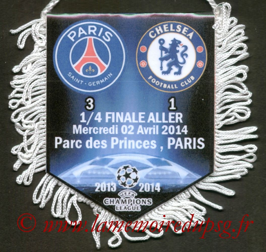 2014-04-02  PSG-Chelsea (Quart Finale Aller C1)