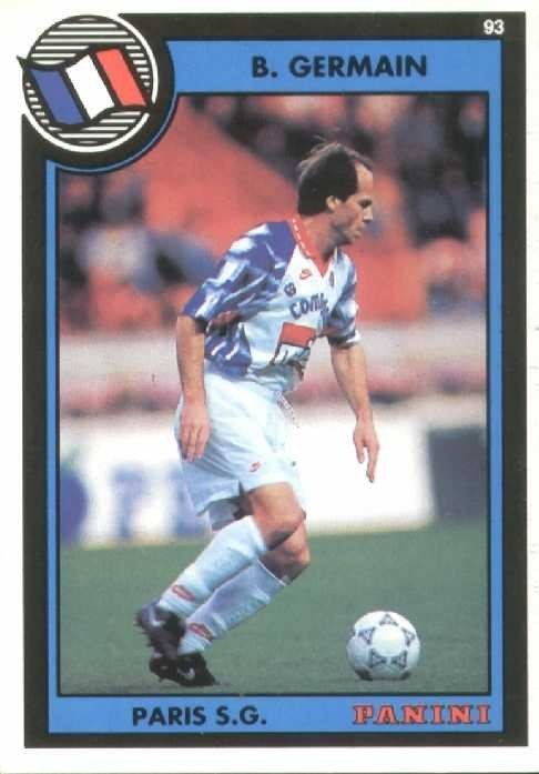 N° 182 - Bruno GERMAIN (Recto)