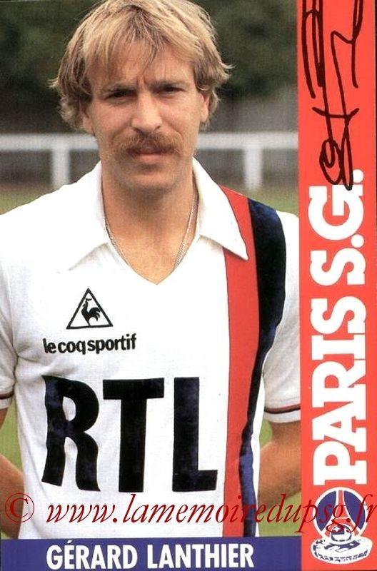 LANTHIER Gerard  84-85