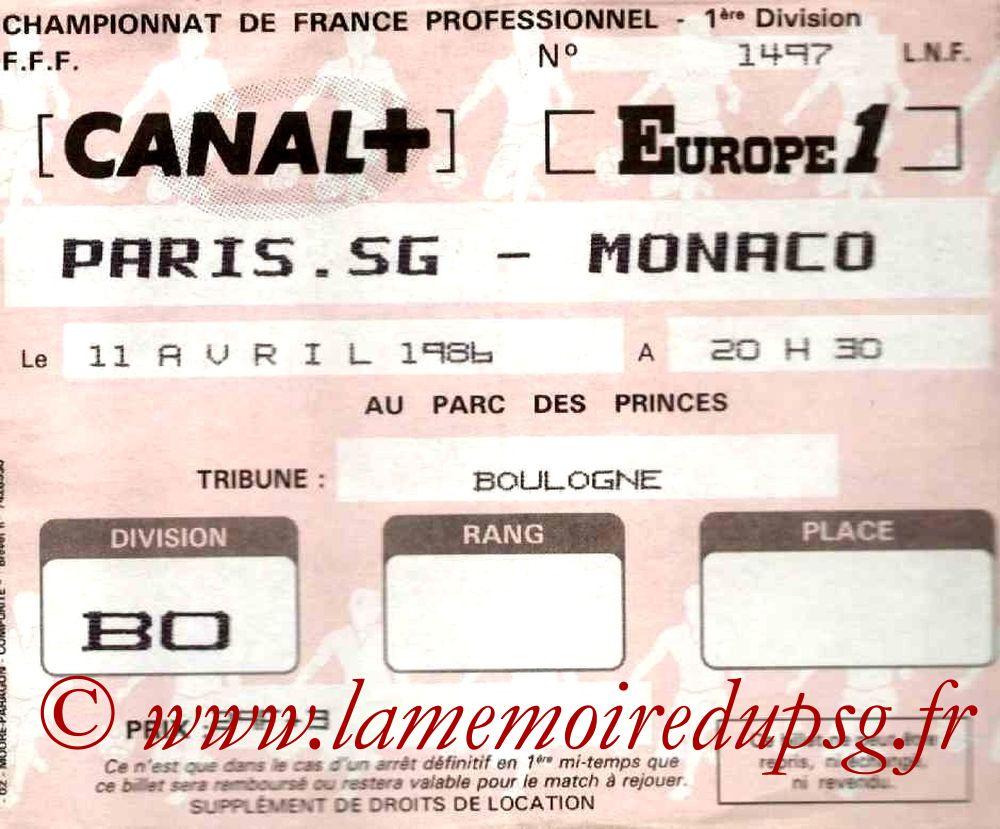 1986-04-11  PSG-Monaco (36ème D1)