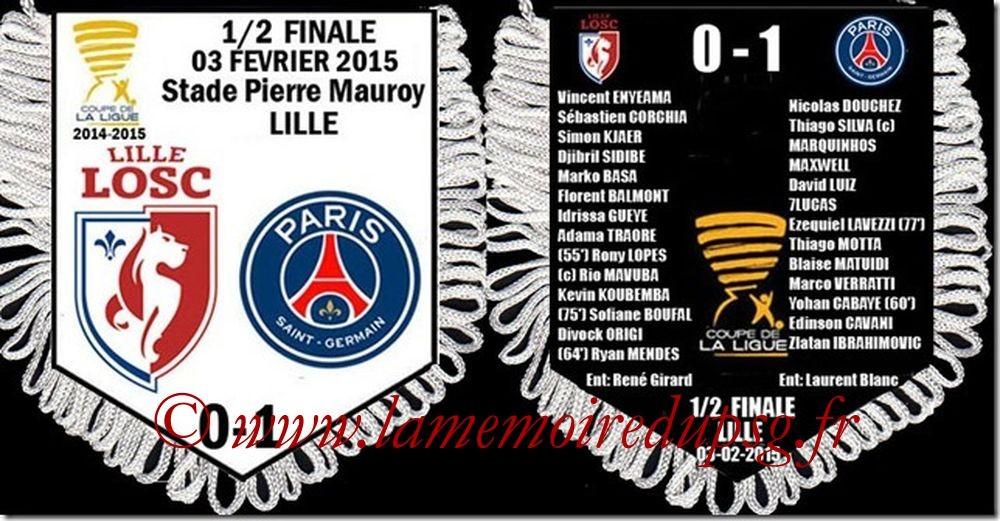 2015-02-03  Lille-PSG (Demi CL)