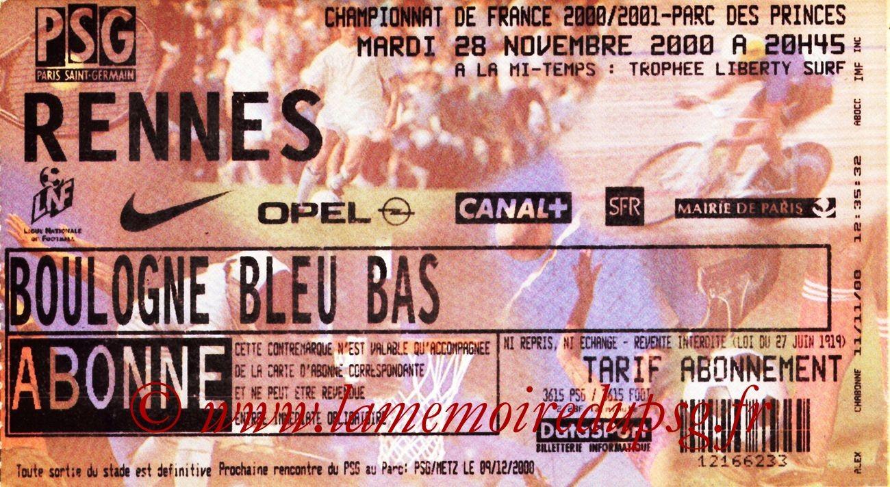 2000-11-28  PSG-Rennes (18ème D1)