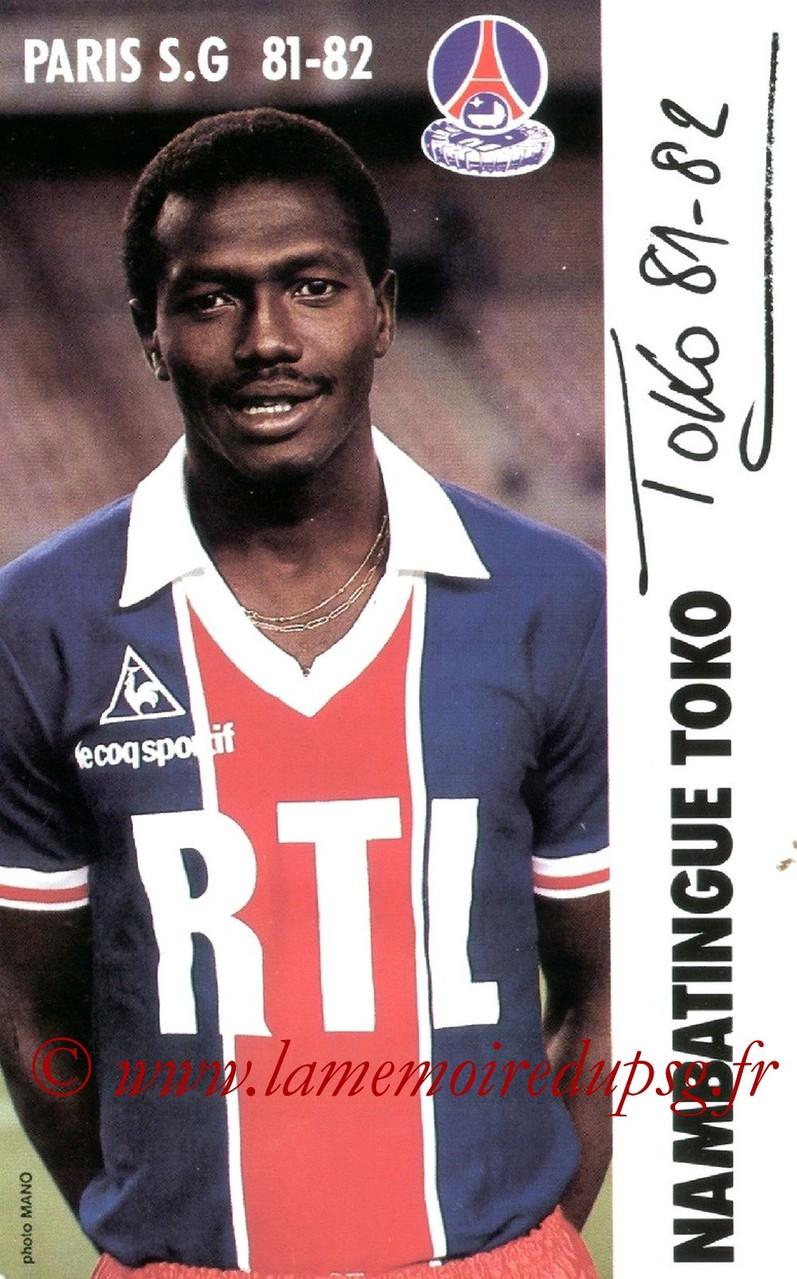 TOKO Nambatingue  81-82